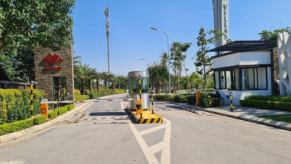 Cổng an Ninh Khu đô thị Hado Charm Villas