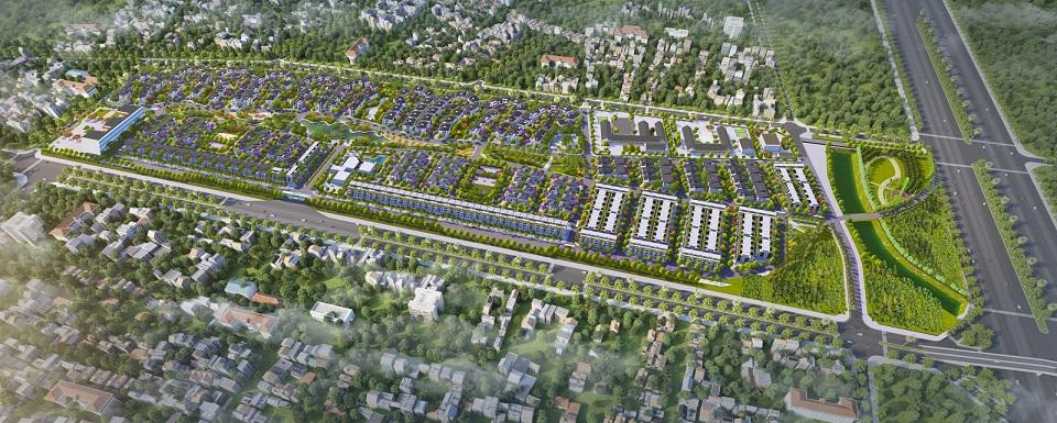Quy hoạch tổng thể dự án Hà Đô Charm Villas