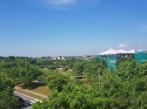 Không gian xanh hado charm villas