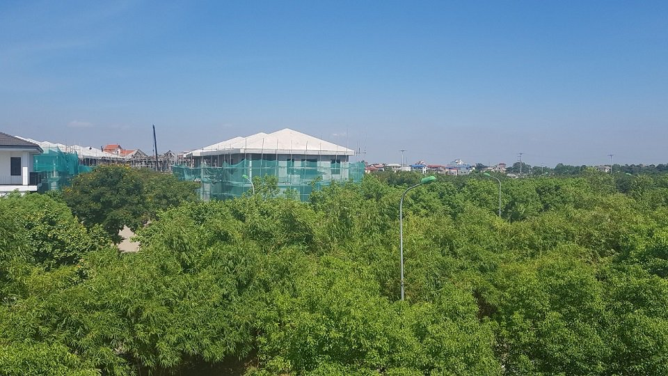 Khu đô thị xanh hà đô charm villa