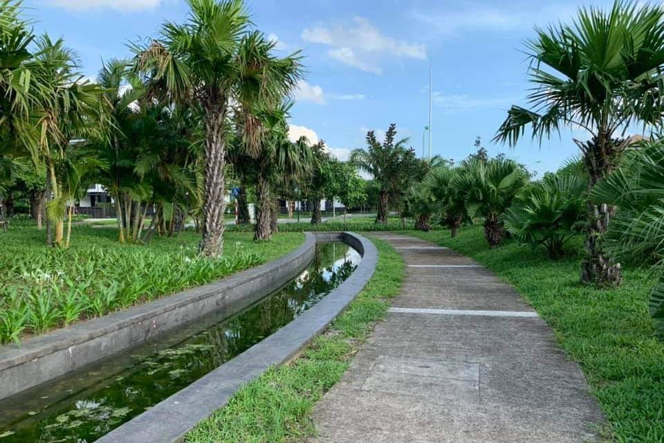Không gian xanh Hà Đô Charm An Khánh