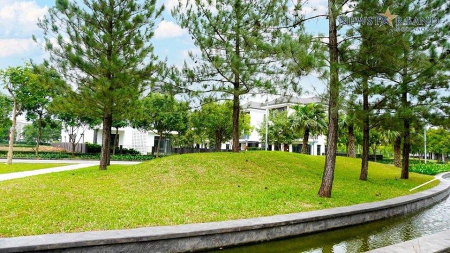Cảnh quan dự án Hà Đô Charm Villas