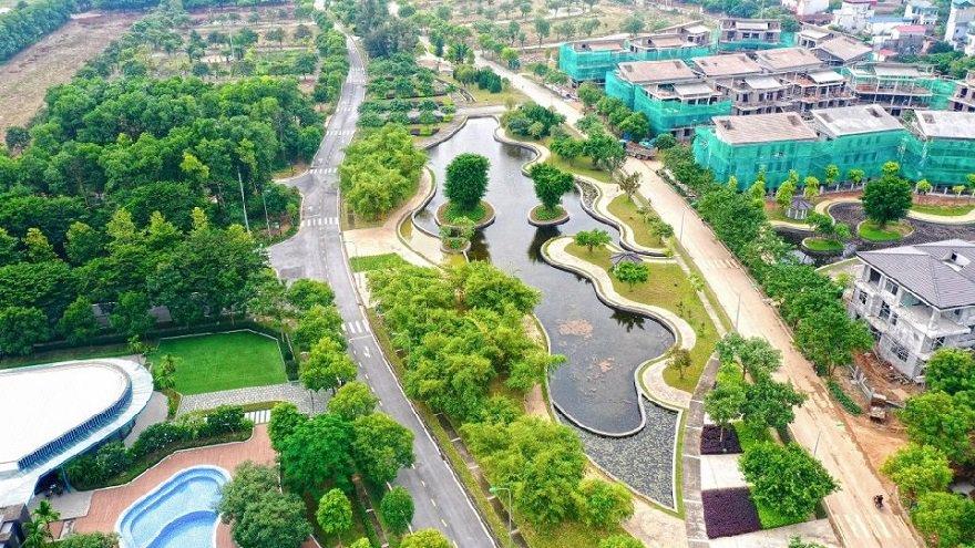 Hado charm villa có hồ rộng 2.5ha