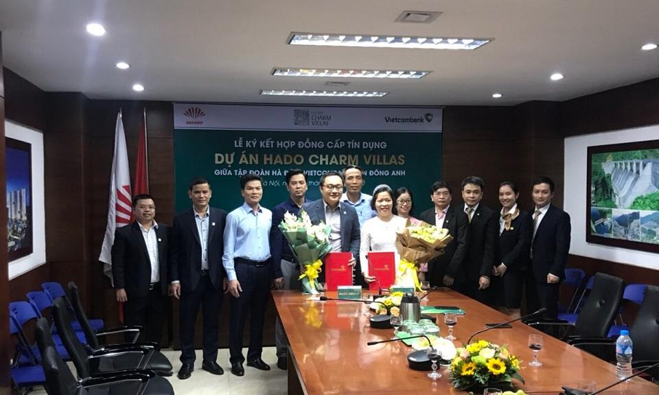 vietcombank cấp tín dụng cho dự án Hado Charm Villas