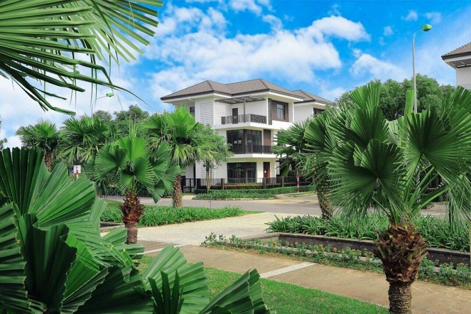 Biệt thự xanh hà đô charm villas