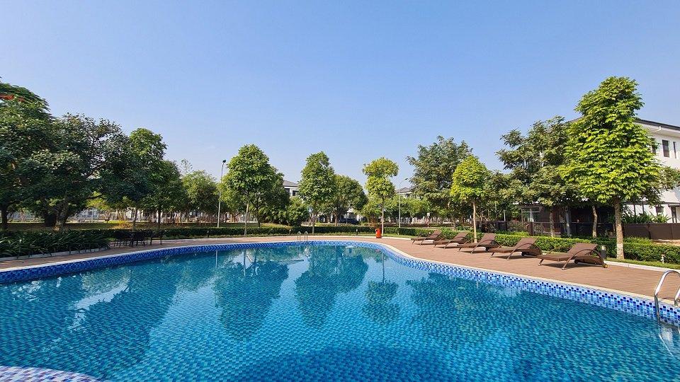 Khu clubhouse Hà Đô Charm Villas